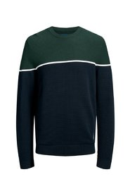 Knitted Pullover Colour block