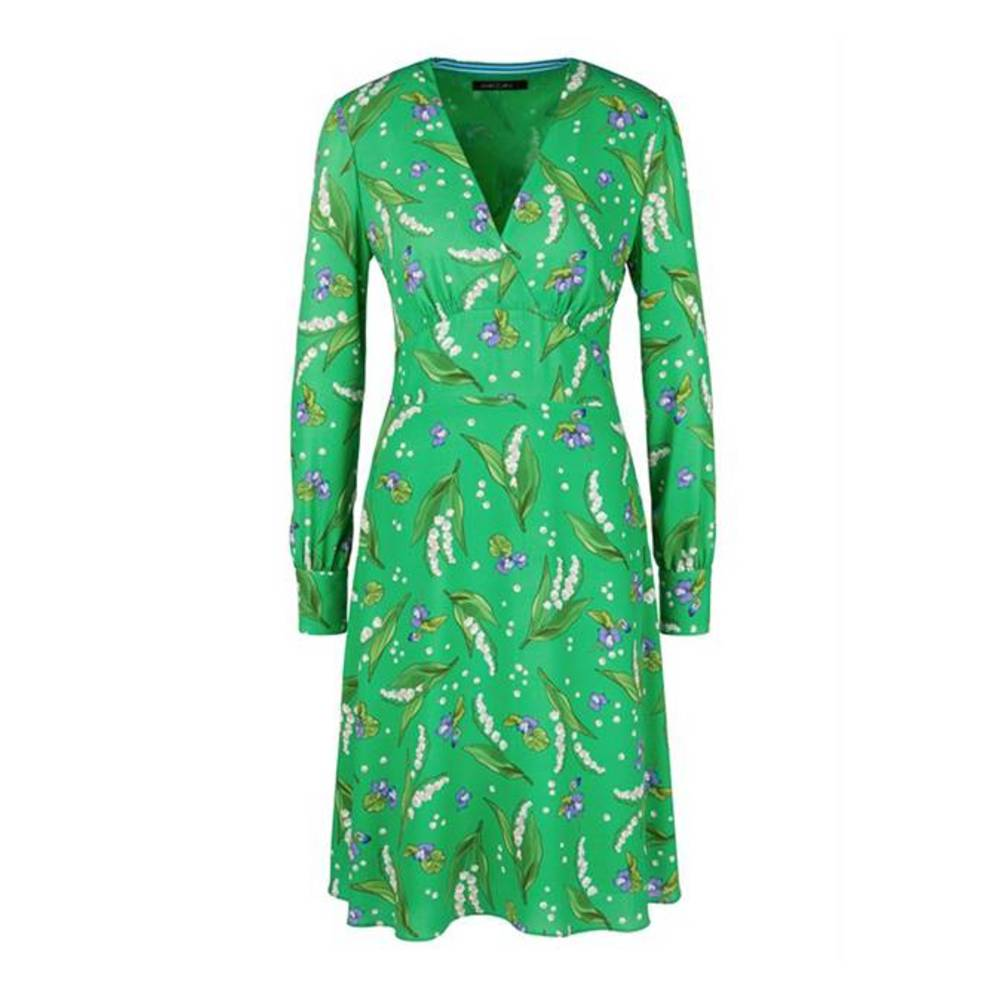 MARCCAIN COLLECTIONS LC 21.27 W18 Jurk Groen