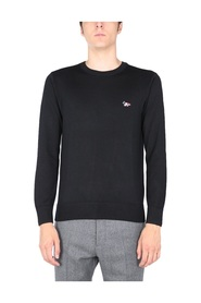 SWEATER WITH FOX PATCH