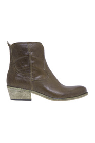 Fru.it texaner ankel støvle i læder