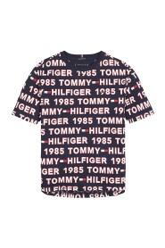 TOMMY HILFIGER KB0KB05423 AOP TEE T SHIRT AND TANK Unisex Boys BLUE