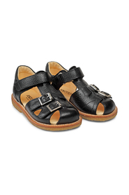 Sandals with adjustable velcro and buckles
