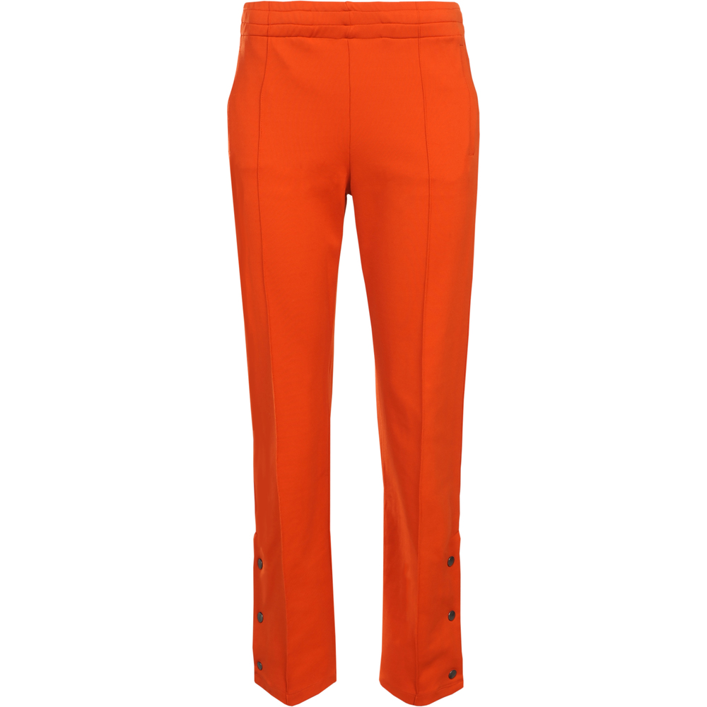 Trousers with press-studs