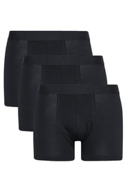 Bread & Boxers 3-Pack Black Boxer Brief