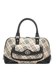 Nova Check Canvas Handbag