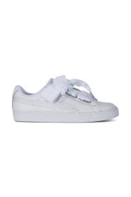 Hvit Puma Basket Sneakers, BN 689