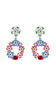Forget-Me-Knot and Rosebuds Earrings