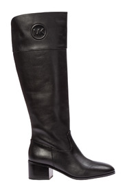 women's leather heel boots dylyn