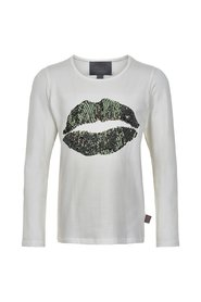 T-shirt Lips Sequins