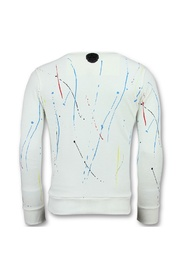 ICONS Painted - Funny Sweater Heren
