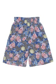 Duo Pockets Printed Shorts