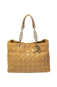 Pre-owned  Cannage Quilted Patent Leather Shopper Tote