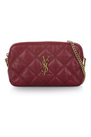 Monogram Quilted Leather Crossbody Bag