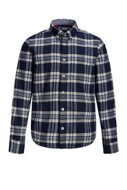 Long sleeved shirt Boys check