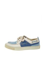 Brukte Low Low Sneakers i skinn