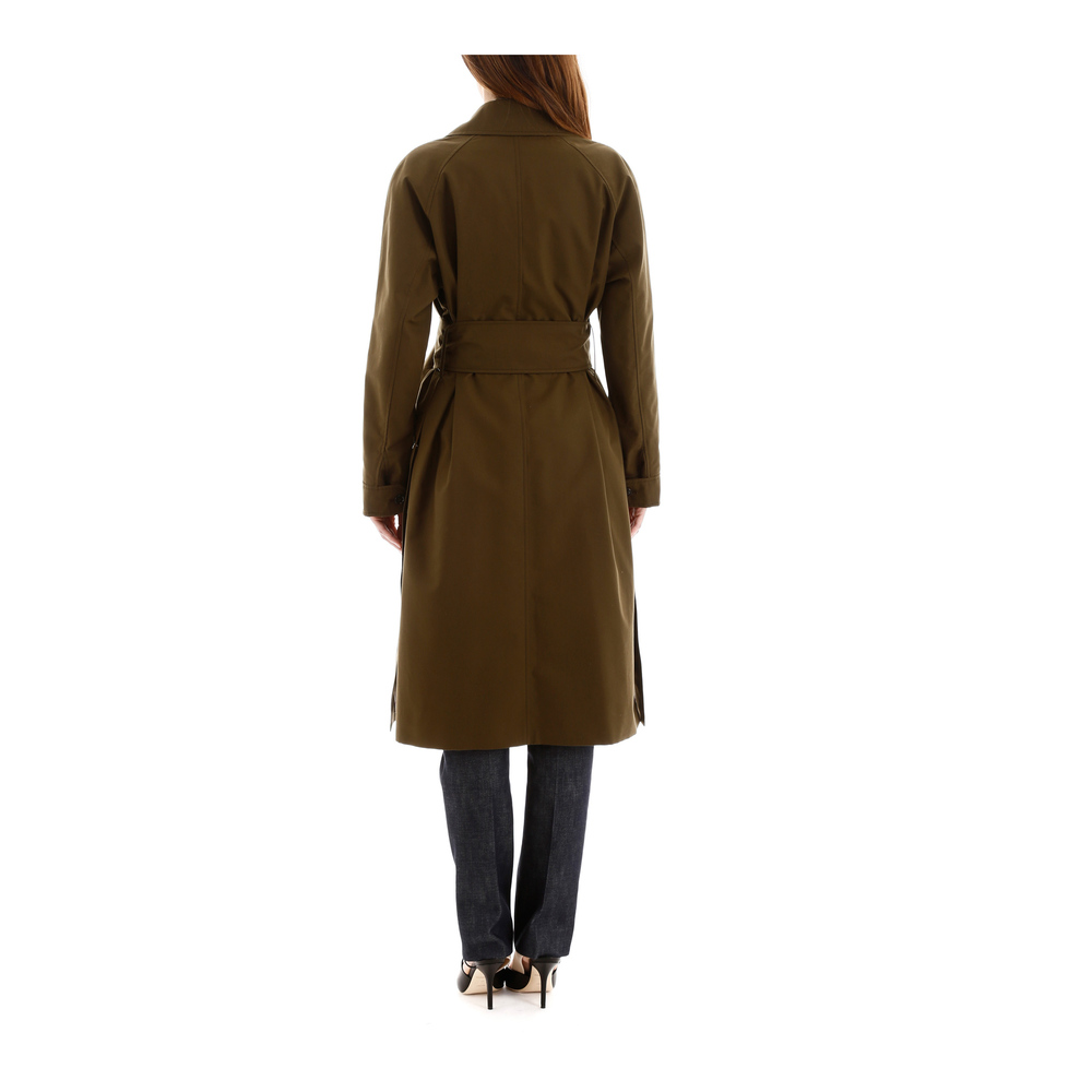 Burberry Green Camelford trench coat Burberry