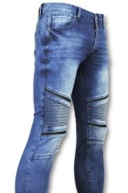 Biker jeans mannen - 3009