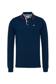 L/S Tipped Slim Polo