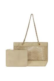Chain Shoulder Shopper Bag