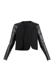 Wool and Leather Jacket