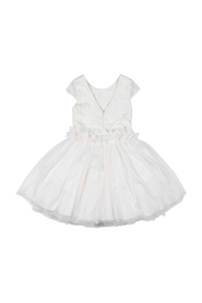 Gymp girls Jurk Creme