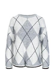 Argyle Pullover 7 Knitted