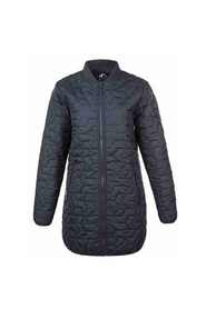 Zola long quilted jacket
