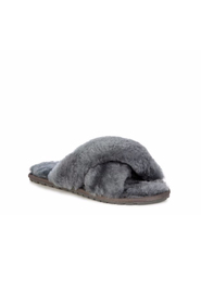 Mayberry Slipper - Charcoal - 36