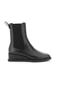 Chelsea boots with wedge heel