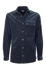 Cotton Overshirt With Iconic Badge I20P33640S