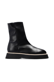 'Rosa' leather ankle boots