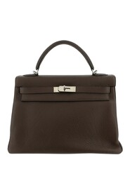 Pre-owned Taurillon Clemence Kelly Retourne 32 Bag