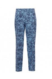Spodnie cygaretki we wzór