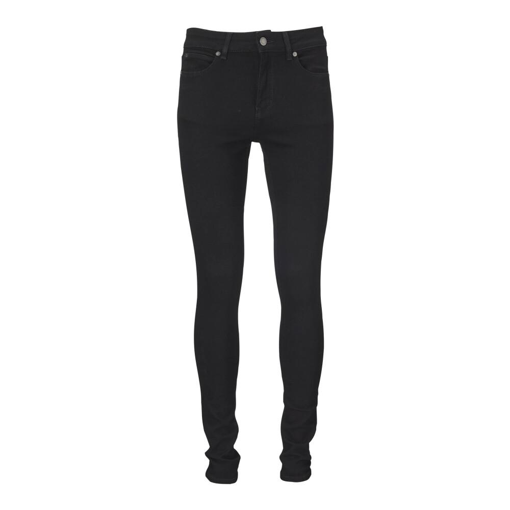 Rosie jeans Seriously black - Black Ivy Copenhagen Bukser til Damer i Sort