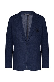 Blazer with notch lapels