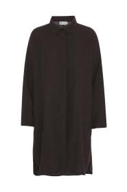 Brun Tif Tiffy Emily storskjorte/kjole
