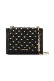 Hearts quilted bag
