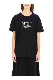 Oversized t-shirt with logo print