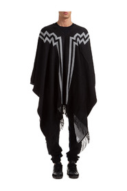 poncho uomo rural cross