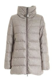 TORCON DOWN JACKET WITH LAMÉ DETAILS