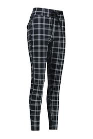 Road check trousers 03662/9093