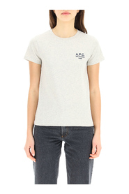 denise t-shirt with logo embroidery