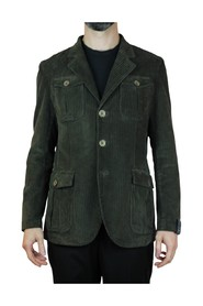 SINGLE-BREASTED JACKET WITH POCKETS FLAPS