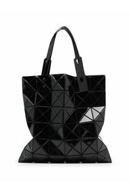 Lucent geometric-panelled tote bag
