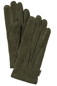 Hestra Mænds Handske i ren Oliv