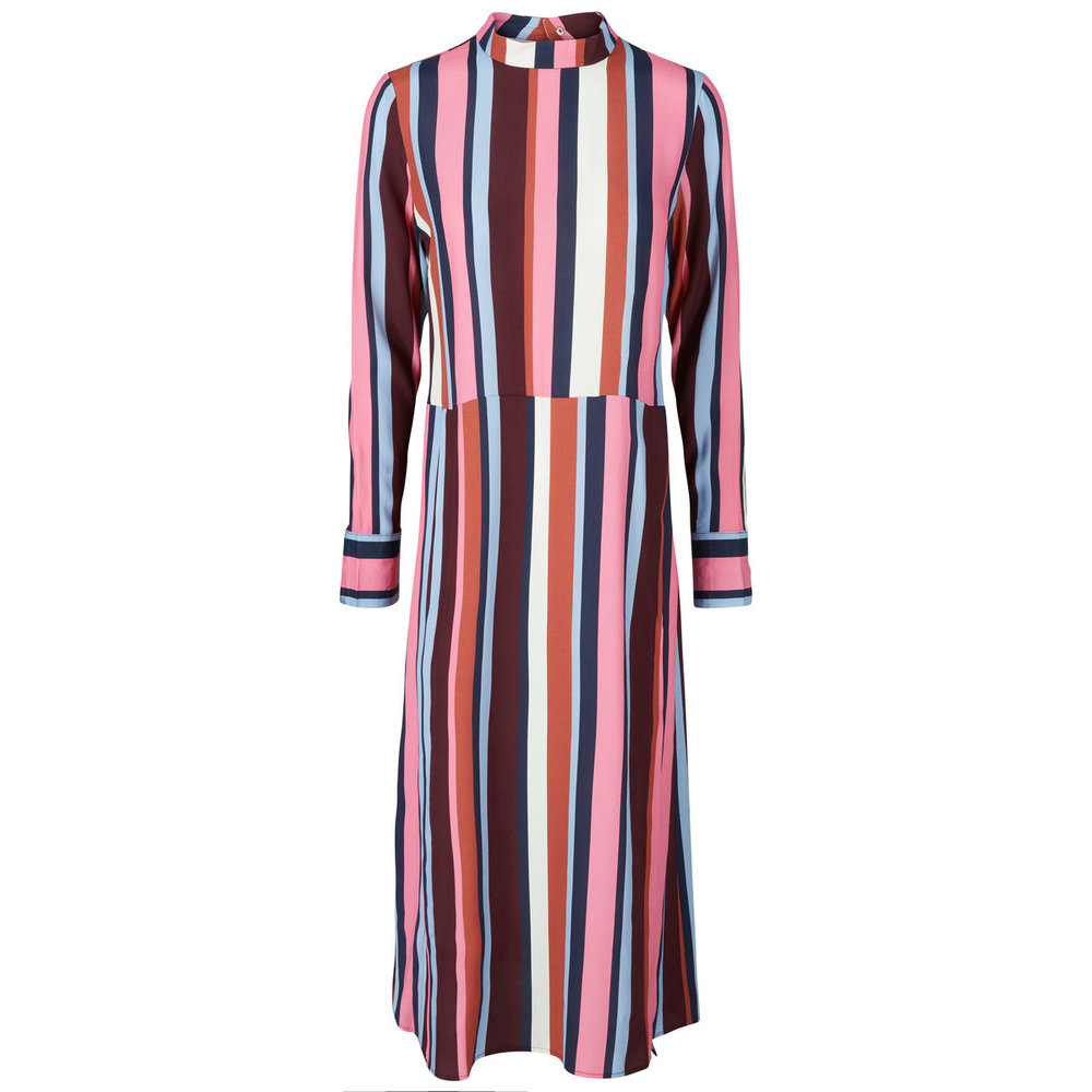 Long Sleeved dress Striped