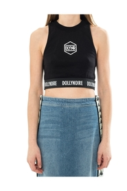 TANK HEXAGON HIGH NECK CROP