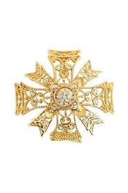 Maltese crown brooche
