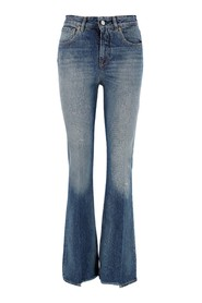 Jeans with delave effect