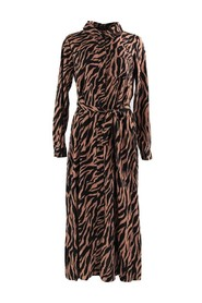 Desiree Zebra Dress Clourful Rebel